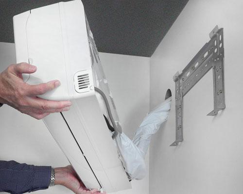 Veilig een airconditioning plaatsen
